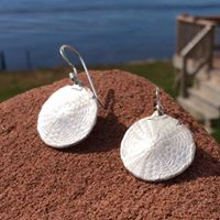 Jewellery - sanddollar ear rings