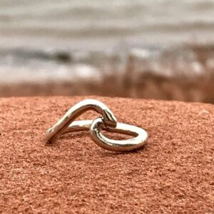 Jewellery - wave ring-50 dollars plus tax